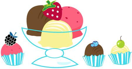 Ice cream Tive Standard-Bild - 43416274