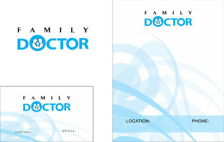 Medical Business Card Design and Brochure