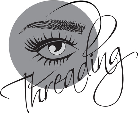 eyelash extentions, threading eyebrows