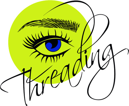 eyelash extentions, threading eyebrows