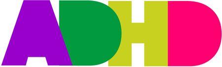 ADHD Logo Ilustração