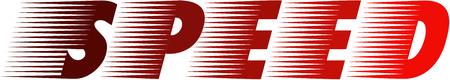 Geschwindigkeit Logo Standard-Bild - 75377887
