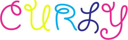 Curly Logo