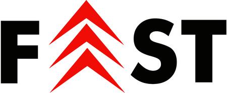 Schnelles Logo Standard-Bild - 75435192
