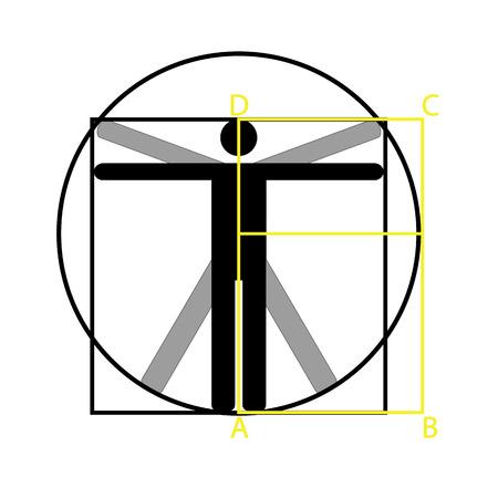 man icon symbol design. Vektorové ilustrace