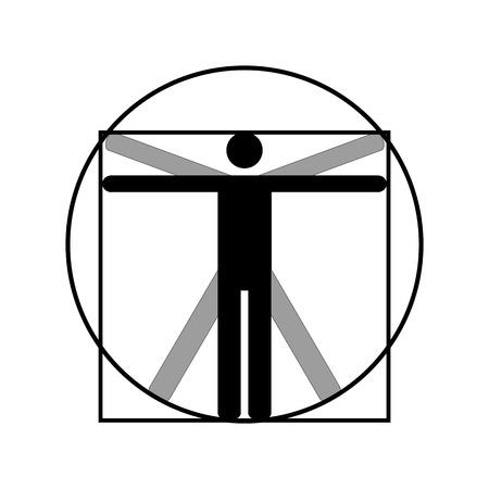 man icon symbol design.