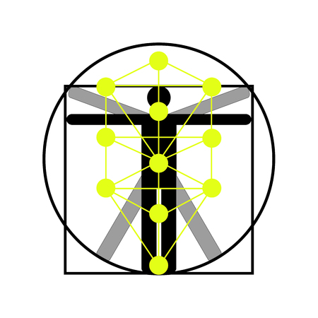 The Kabbalah Tree of Life icon