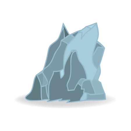 Iceberg Icon Symbol Design. Illustration