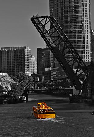 Bridge on Chicago river