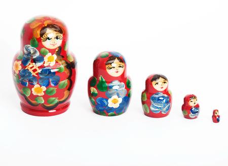 Russian doll, matryoshka Stock Photo
