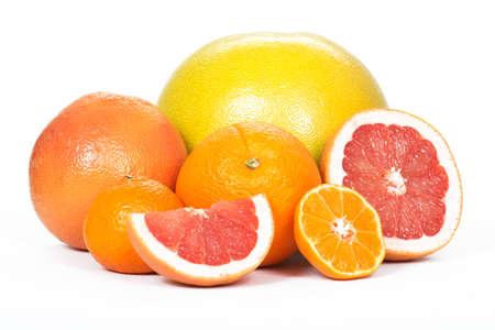 pomelo: Pomelo, grapefruit, orange, tangerine