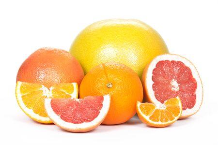 tangerine: Pomelo, grapefruit, orange, tangerine