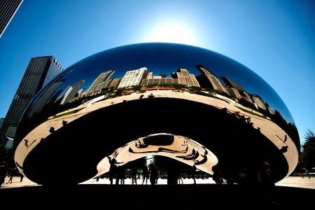 Bean or cloud gate, Chicago