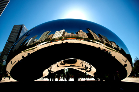 Bean or cloud gate, Chicago