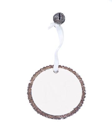 Blank fashion bracelet separated on white background Фото со стока