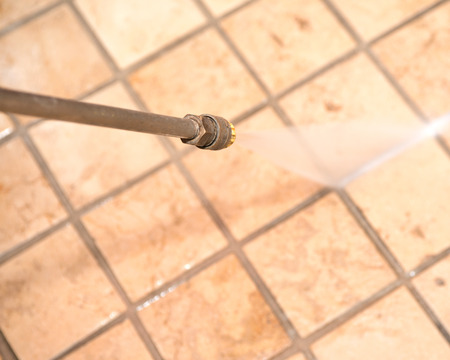 Marble floor and ground powerful pressure washing cleaning