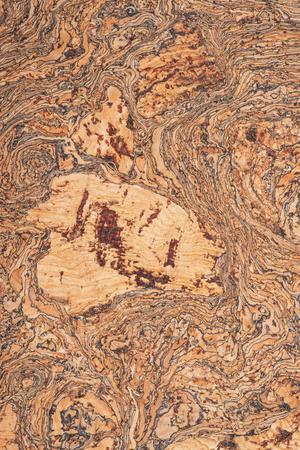 Macro shot of natural brown cork board like art  seamless texture, background Stock fotó