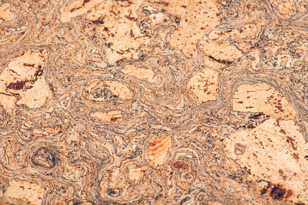 Macro shot of natural brown cork board like art  seamless texture, background Reklamní fotografie