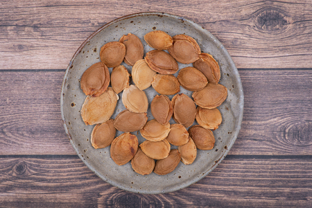 Dried Apricot Kernels (the seed of an apricot, often called a