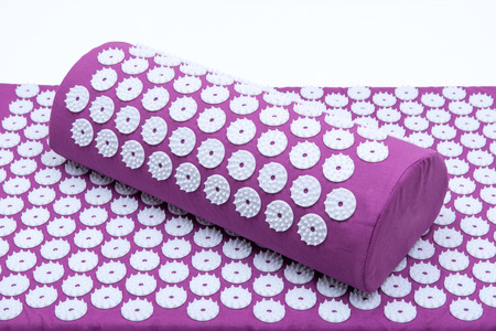 Acupressure Mat and Pillow Set for Back and Neck Pain Relief and Muscle Relaxation. Relieves Stress, Back, Neck, and Sciatic Pain.