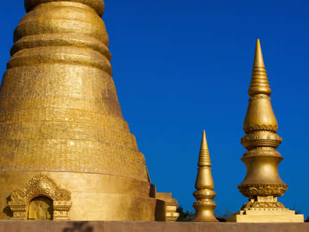 A small pagoda in temple of Thailand Stock Photo - 16453711
