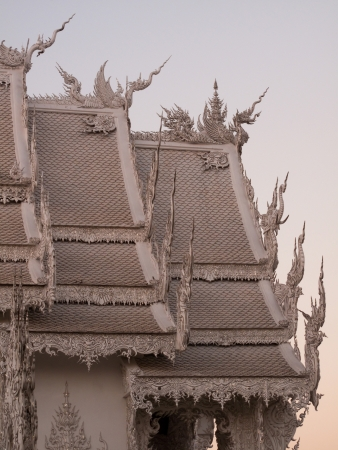 Wat Long Kun in northern Thailand