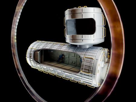spacecraft: Model of spacecraft