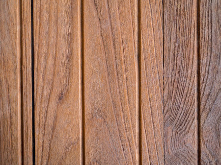 Old wood plank wall background for design and decoration , vertical line Stock Photo