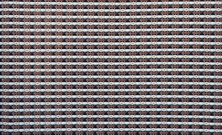 fabric texture, pattern of grille, loudspeaker mask background