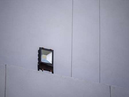 The LED field light out side the building Stock fotó