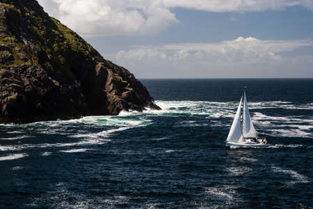 sail boat at Dursey Sound