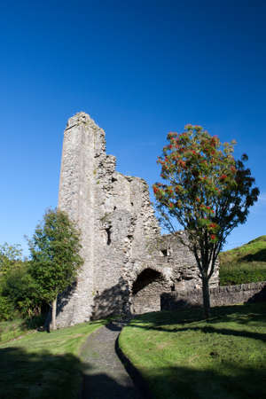 cistercian: Mellifont Abbey located in County Louth (Ireland), the first Cistercian abbey which to be built in Ireland.  Stock Photo
