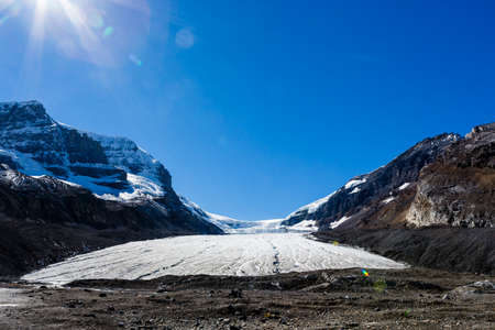 icefield: The Columbia Icefield is the Largest ice field in the Rocky Mountains of North America.