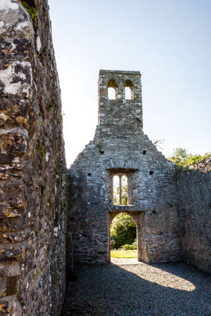 synod:  Mellifont Abbey was the first Cistercian abbey to be built in Ireland. Founded in 1142 on the orders of Saint Malachy, Archbishop of Armagh. Stock Photo