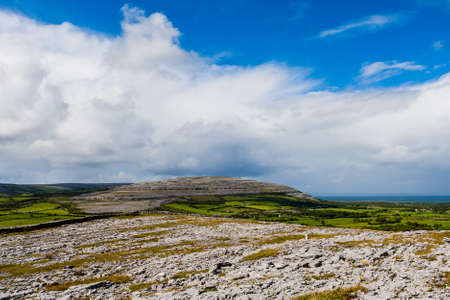 burren: The Burren measures 250 square kilometres and is enclosed roughly within the circle made by the villages of Ballyvaughan, Kilfenora and Lisdoonvarna.