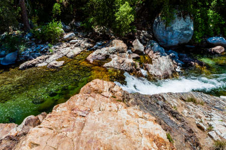 generals: Middle Fork Kaweah River, close to Generals Hwy at Sequoia National Park, California, USA.