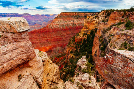 Grand Canyon National Park is the United States 15th oldest national park. Named a UNESCO World Heritage Site in 1979, the park is located in northwestern Arizona Stock Photo