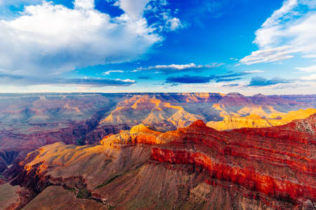 Grand Canyon National Park is the United States 15th oldest national park. Named a UNESCO World Heritage Site in 1979, the park is located in northwestern Arizona. Stock Photo