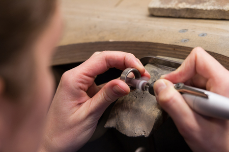 trabajo manual: Create a wedding ring handwork