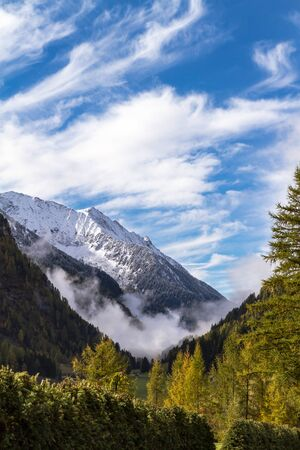 Clouds In The Mountains Of South Tyrol