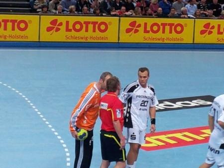 kiel: The Nord-Derby in Handball between THW KIel and SG Flensburg-Handewitt am 07.11.2012
