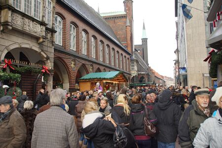 Christmas Market at Luebeck