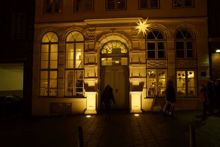 bourgeoisie: The famous House of the Buddenbrooks at Luebeck