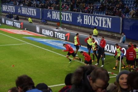 The football player Marcell Jansen from the team Hamburger Sportverein HSV Hamburg 報道画像
