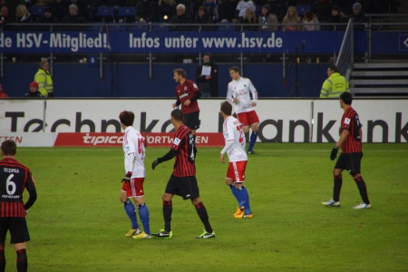 hsv: The football player from the team Hamburger Sportverein HSV Hamburg Editorial