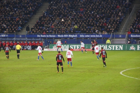 hsv: The football player Rafael van der Vaart from the team Hamburger Sportverein HSV Hamburg Editorial