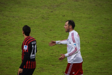 hsv: The football player Heiko Westermann from the team Hamburger Sportverein HSV Hamburg