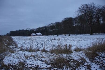 A lonely Cabin neaby Windeby, Eckernf�rde, Schlewsig-Holstein photo