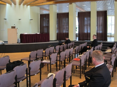 The Reservist Meeting of the German Navy in the Julius-Leber-Kaserne Berin