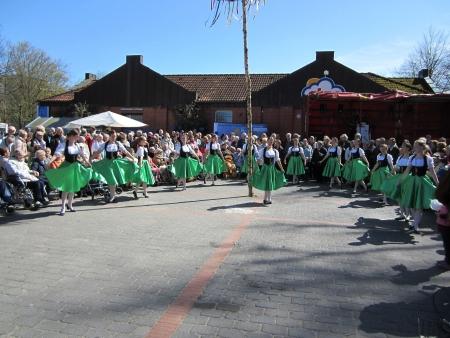 Dancing around the maypole Stock Photo - 20132900